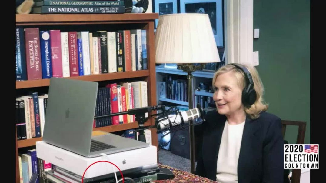 World Shocked As Hillary Clinton Caught With Satanic Book