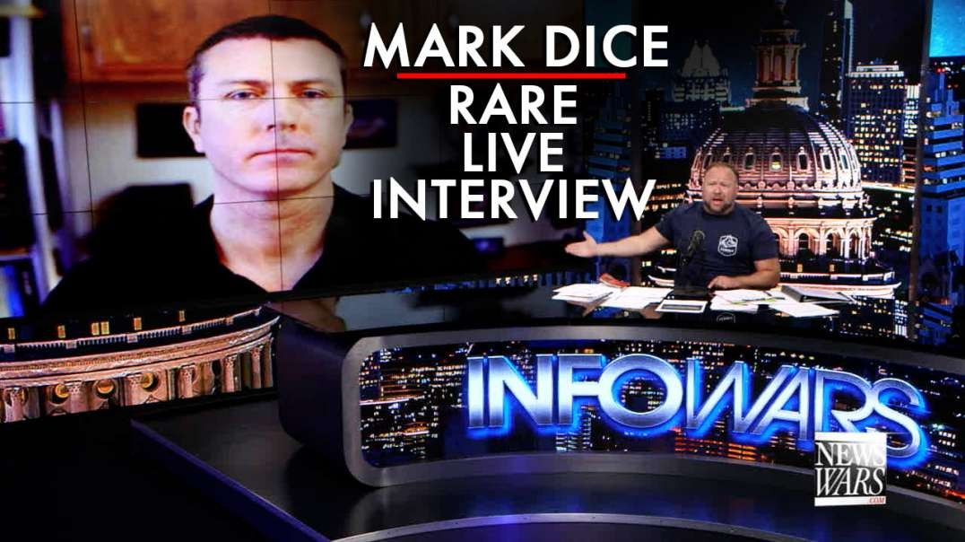 Mark Dice Gives Rare Live Interview to Alex Jones