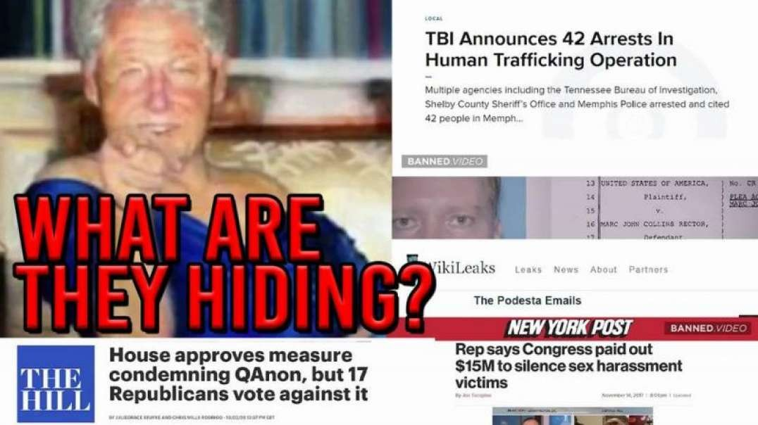 Dems Weaponizing Pedophiles Through Legislation While Denying Child Sex Trafficking