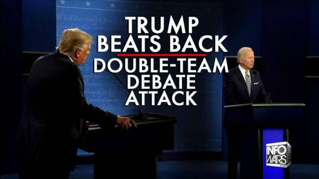 President Trump Beats Back Double-Team Attack at First Presidential Debate of 2020
