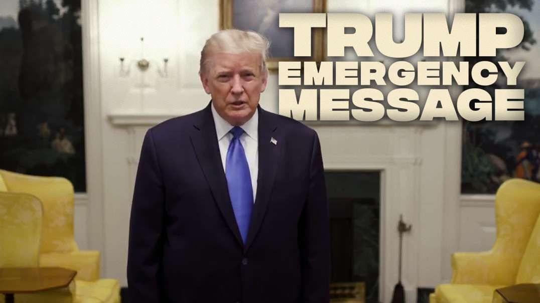 Trump Emergency Message To Supporters On His Diagnosis