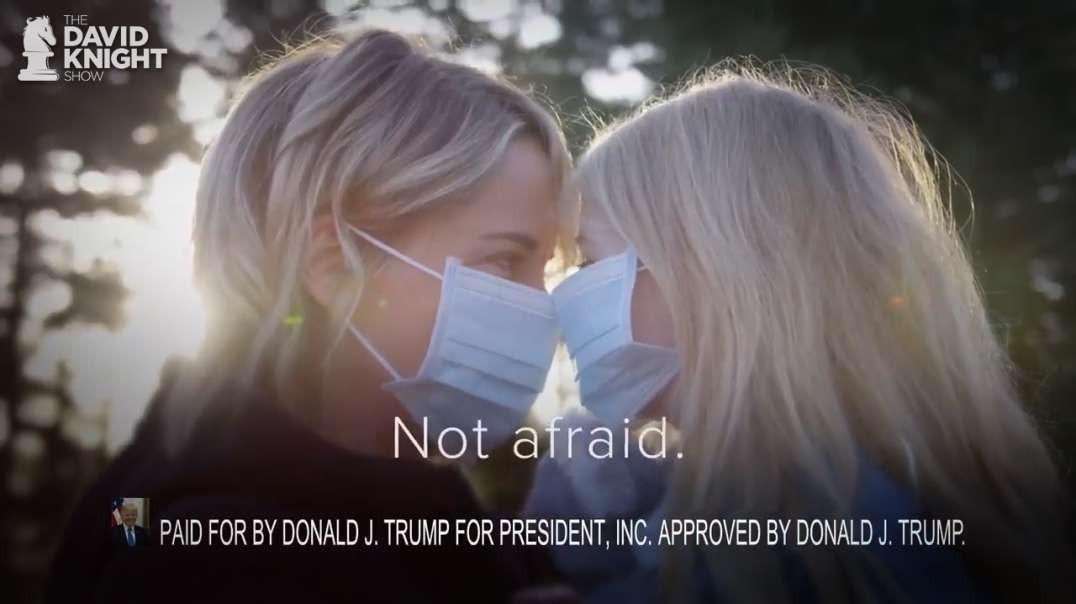 Trump Ad Virtue Signals with Masks, Fauci & BigPharma Praise