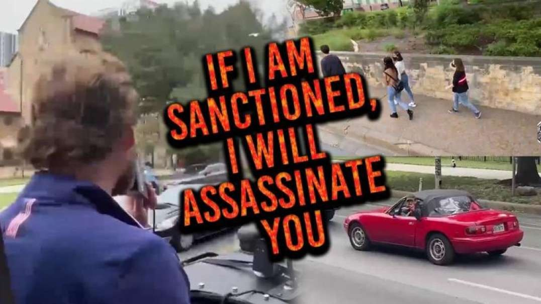 Owen Shroyer Faces Threats Of Assassination Downtown In Austin, Texas