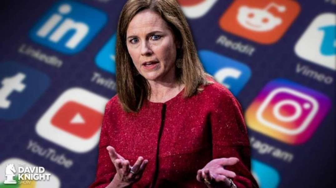 Amy Coney Barrett Explains How The First Amendment Applies To Social Media