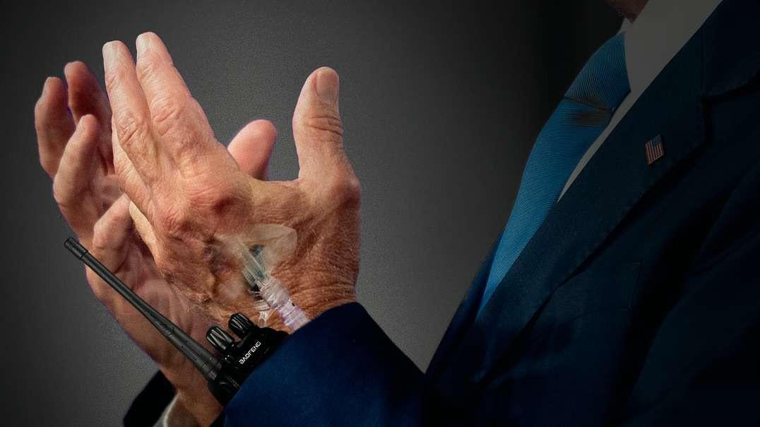 Joe Biden Caught With Device Up His Sleeve During Debate