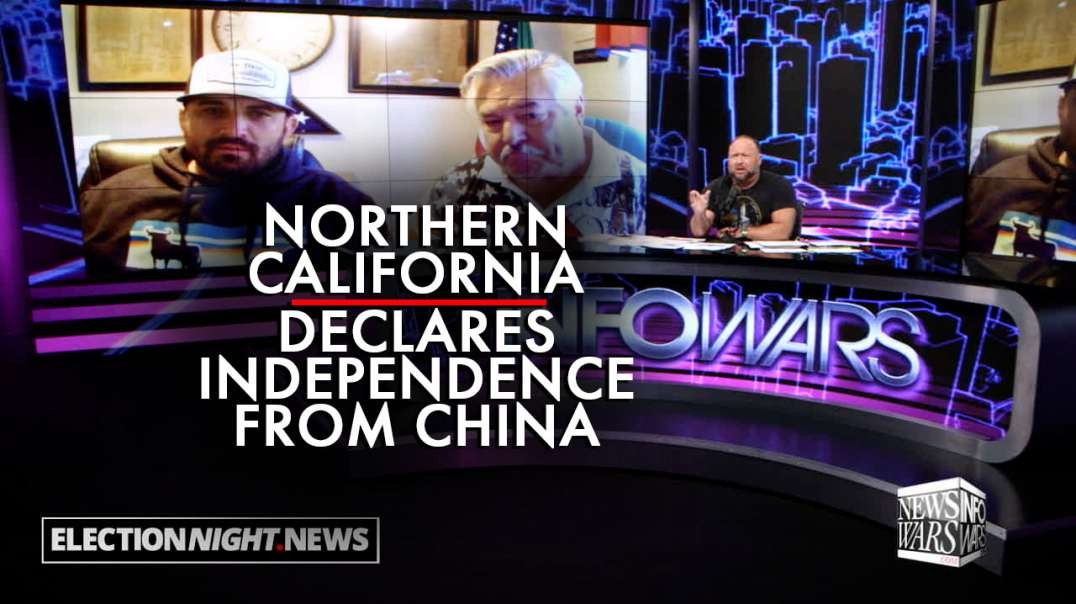 Northern California Declares Independence From China