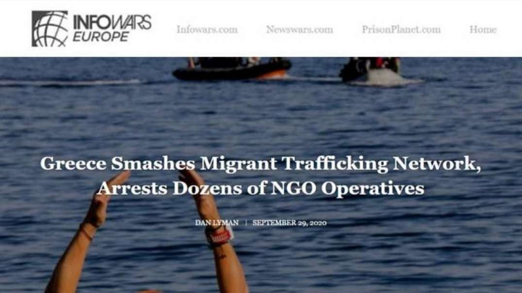 Greece Arrests Dozens of NGO Ops Running Migrant Trafficking Network