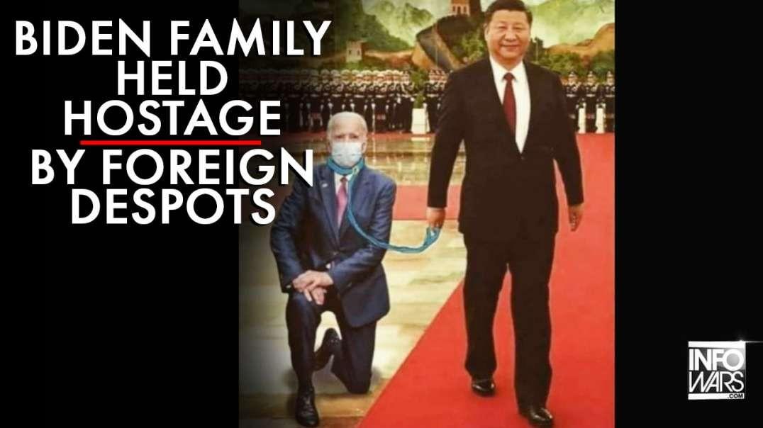Investigative Journalist: Biden Family Held Hostage by Foreign Despots