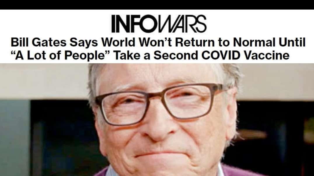World Shocked by Bill Gates Permanent Lockdown Announcement