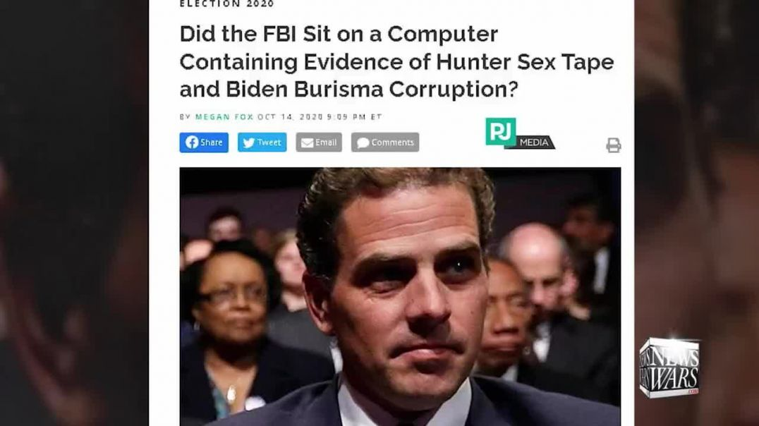 Hunter Biden's Emails Show Satanic Sex Cult