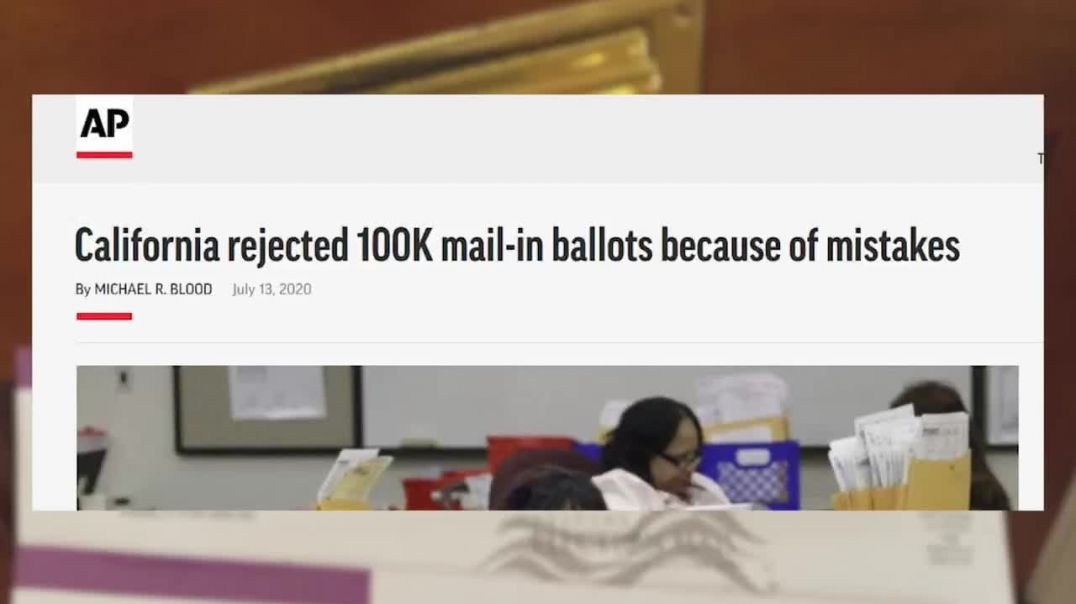 Democrats Caught With MILLIONS of Ballots, Readying for Election Theft!