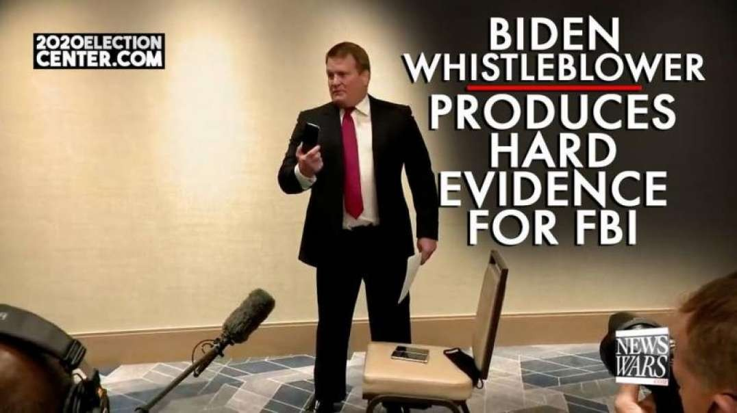 Biden Whistleblower Produces Hard Evidence for the FBI
