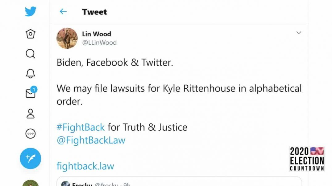 Kyle Rittenhouse Attorney Lin Wood Announces Libel Lawsuit Against Joe Biden and the DNC