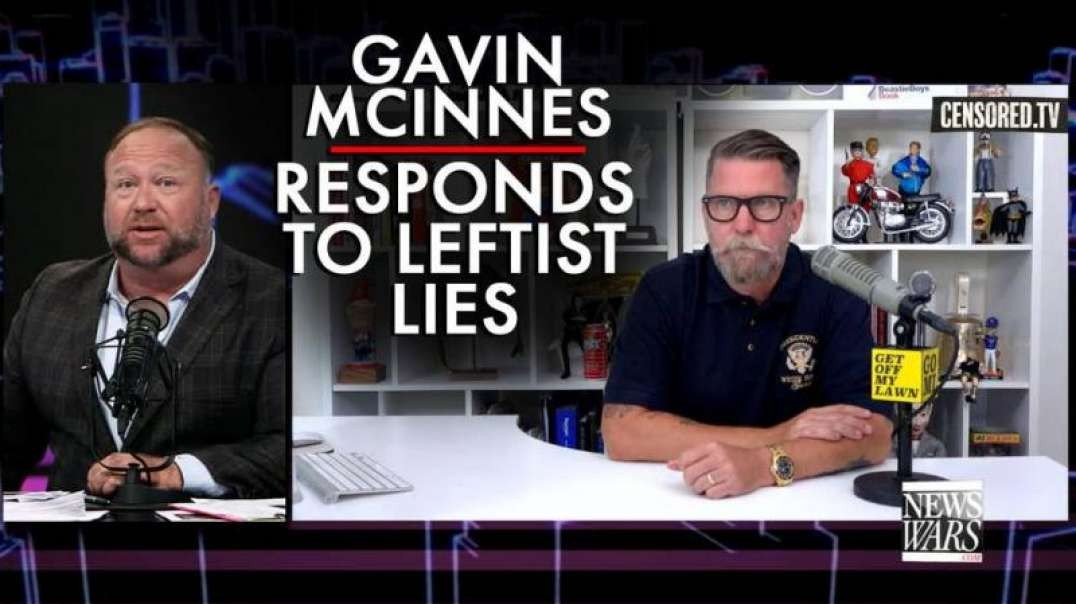 Proud Boys Founder Gavin McInnes Responds to Leftist Lies