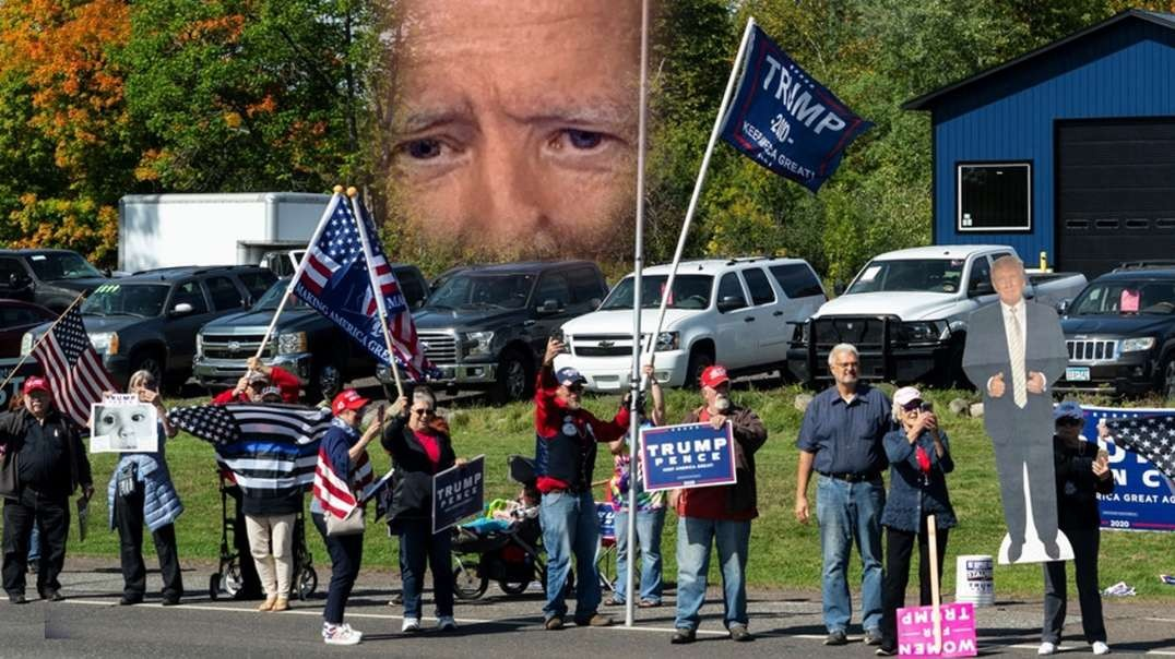 Another Biden Event Has More Trump Supporters Than Biden Supporters