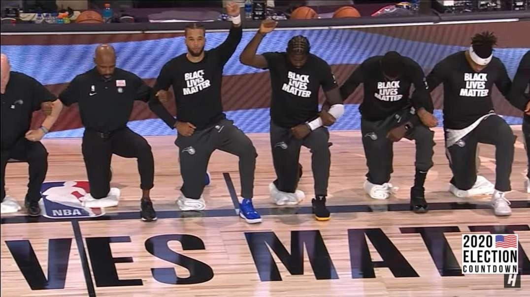 NBA Ditches BLM Propaganda At Games