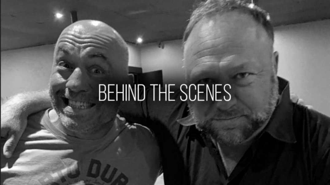 Behind The Scenes of Episode #1555 With Joe Rogan & Alex Jones