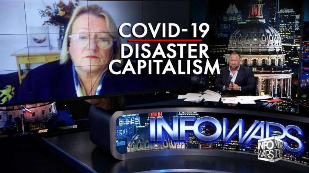Covid-19 is Disaster Capitalism, says Banking Industry Insider