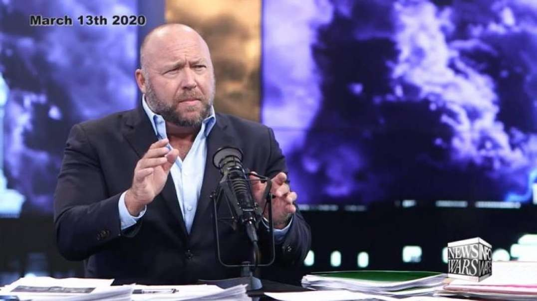 Alex Jones Predicted Left Would Use Trump Getting COVID-19 To Hit Him With Something Worse
