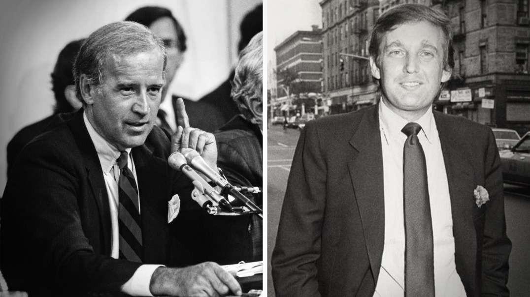 Joe Biden Represents The Corrupt Political Establishment While Trump Represents Hope