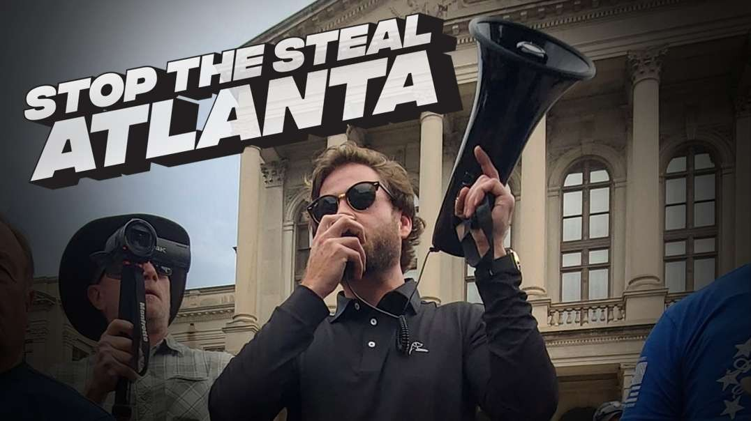 Stop The Steal: Infowars Arrives In Atlanta To Massive Crowd!