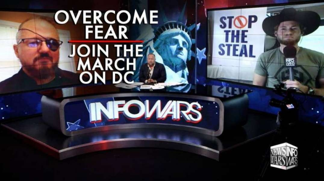 Oathkeepers Founder: Americans Need to Overcome their Fears and Join the March on DC