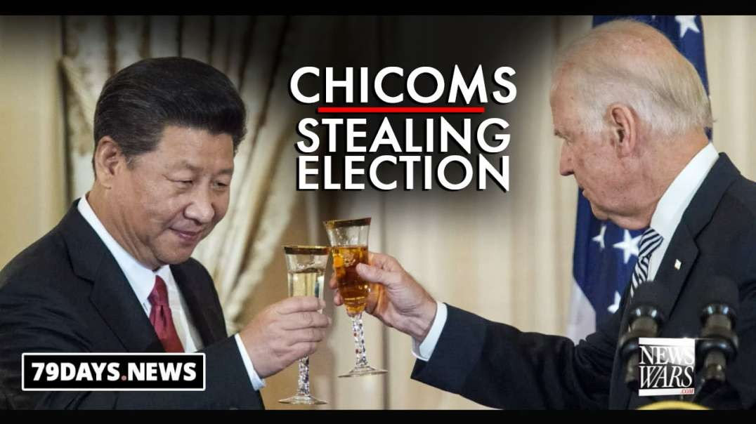 ChiComs on the Verge of Stealing US Election