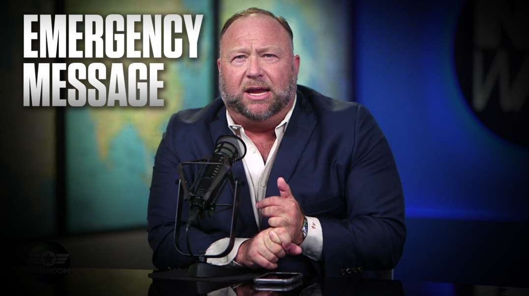 Alex Jones' Emergency Message: Fight For America Now Or Watch Her Die