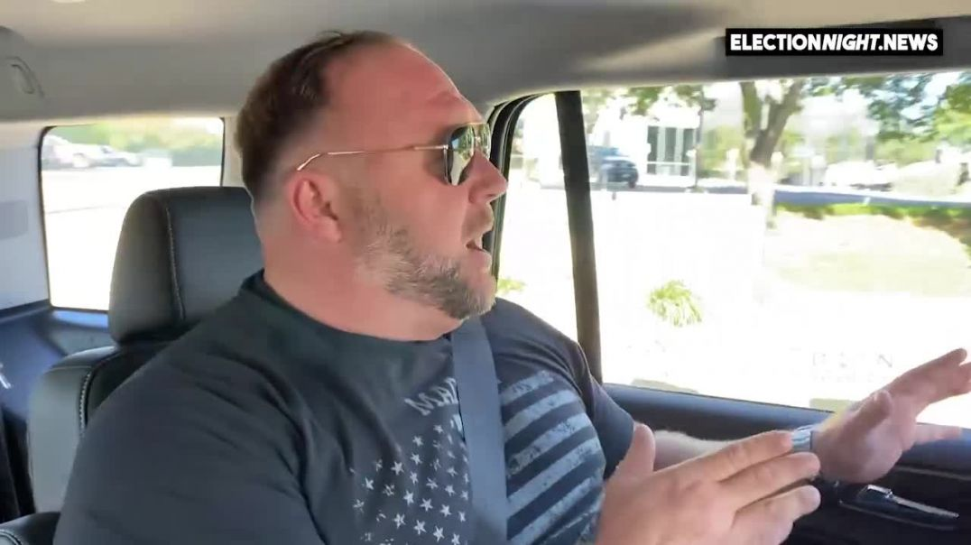 VIDEO: Alex Jones Goes To Vote 2020