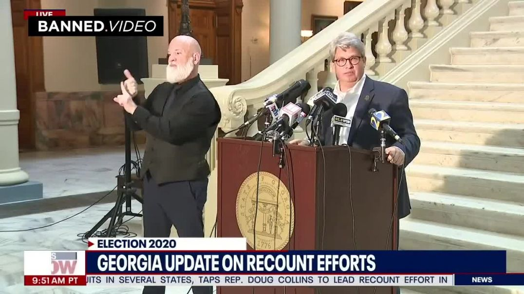 Georgia Election Official Admits They Will Find Voter Fraud During Recount