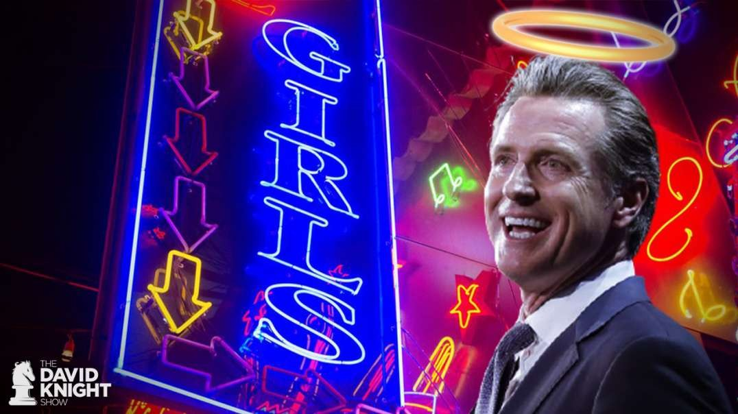 "Newsom Apologizes ""I Didn't Practice What I Preach"", San Diego Shuts Church But Opens Strip Club"