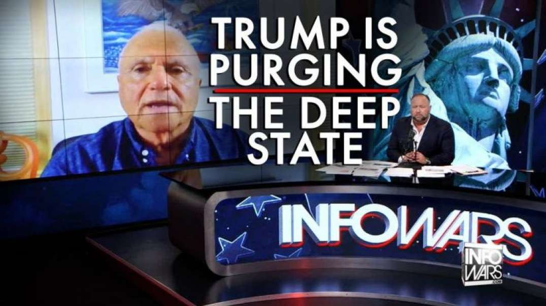 Trump is Purging the Deep State Says Dr. Steve Pieczenik