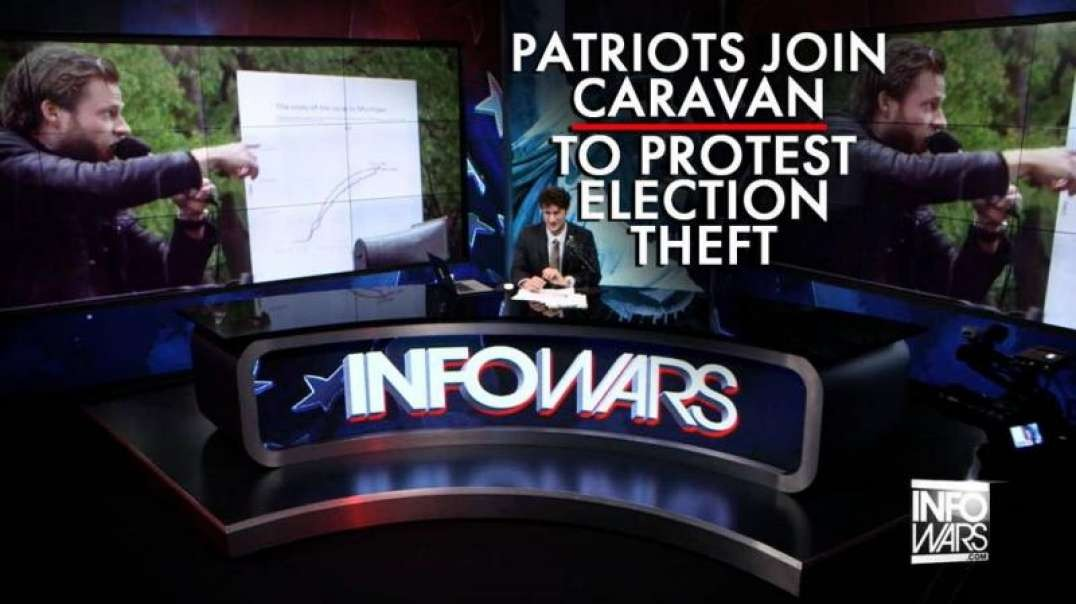 Patriots Join Caravan to DC to Protest the Election Theft of the Left