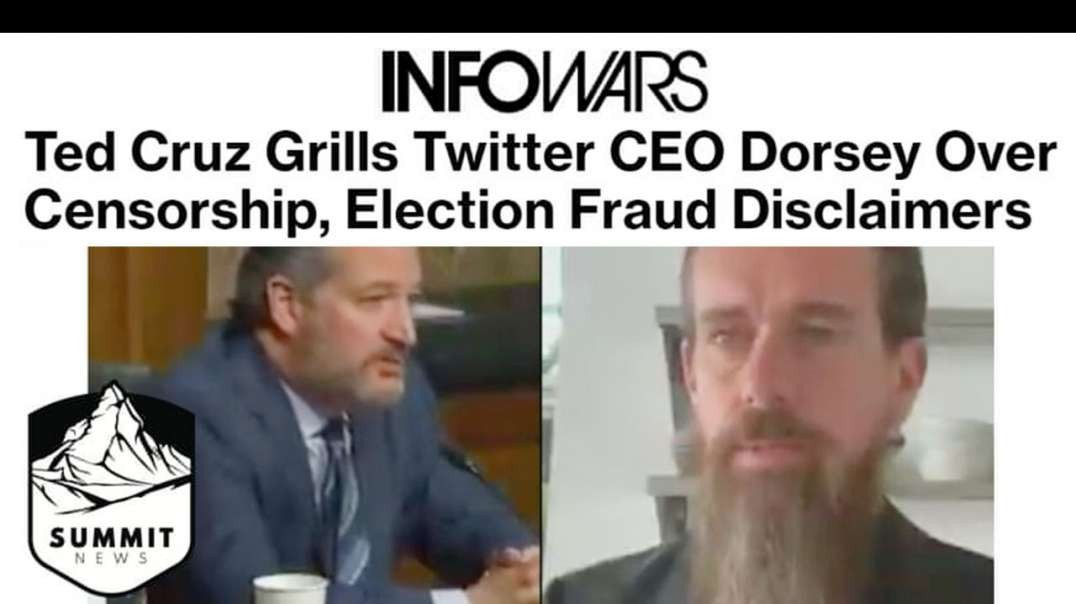 Cruz Grills Dorsey On Big Tech Censorship