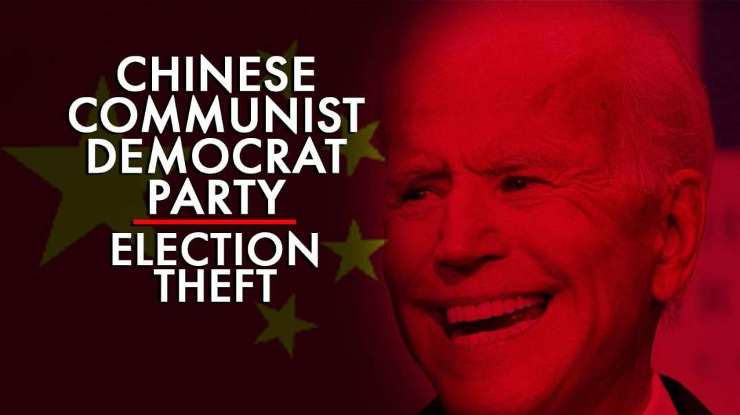 The Breakdown Of The Chinese Communist Democrat Party Election Theft