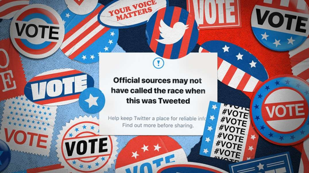 Democrats & Big Tech Say We Can't Know Who Won The Election On Election Day