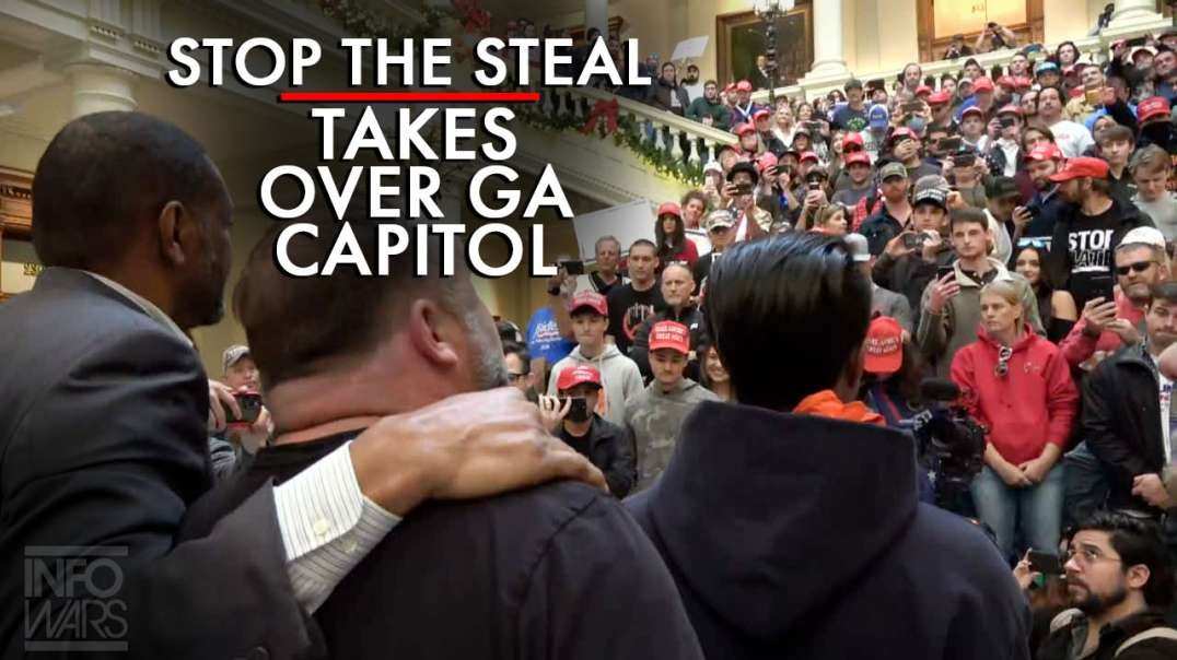 #StopTheSteal Protest Takes Over Steps of GA State Capitol with State Rep Vernon Jones