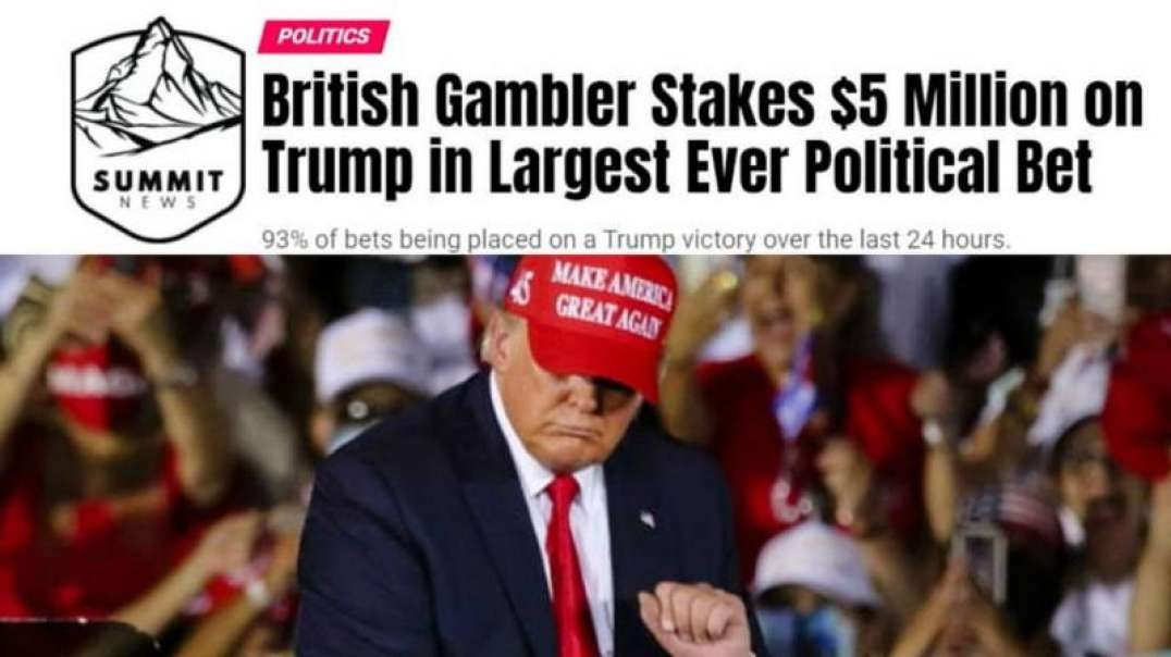 British Gambler Makes Largest Ever Political Bet On Trump