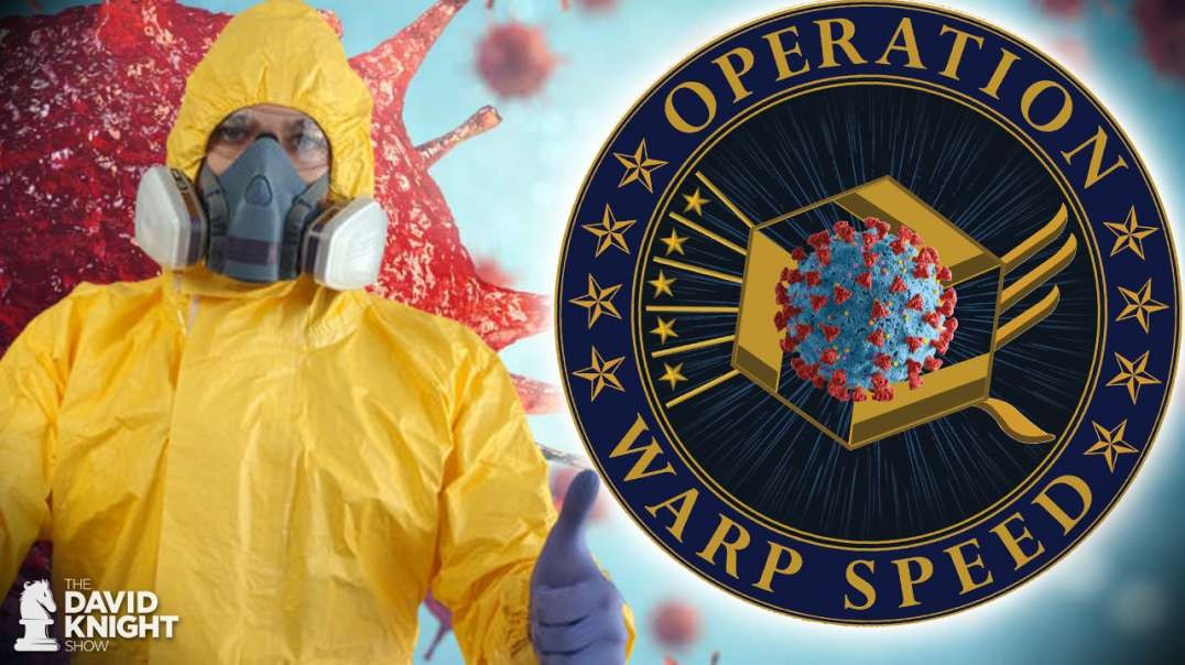 Warp Speed Vaccine: Partnered with Biowarfare DoD