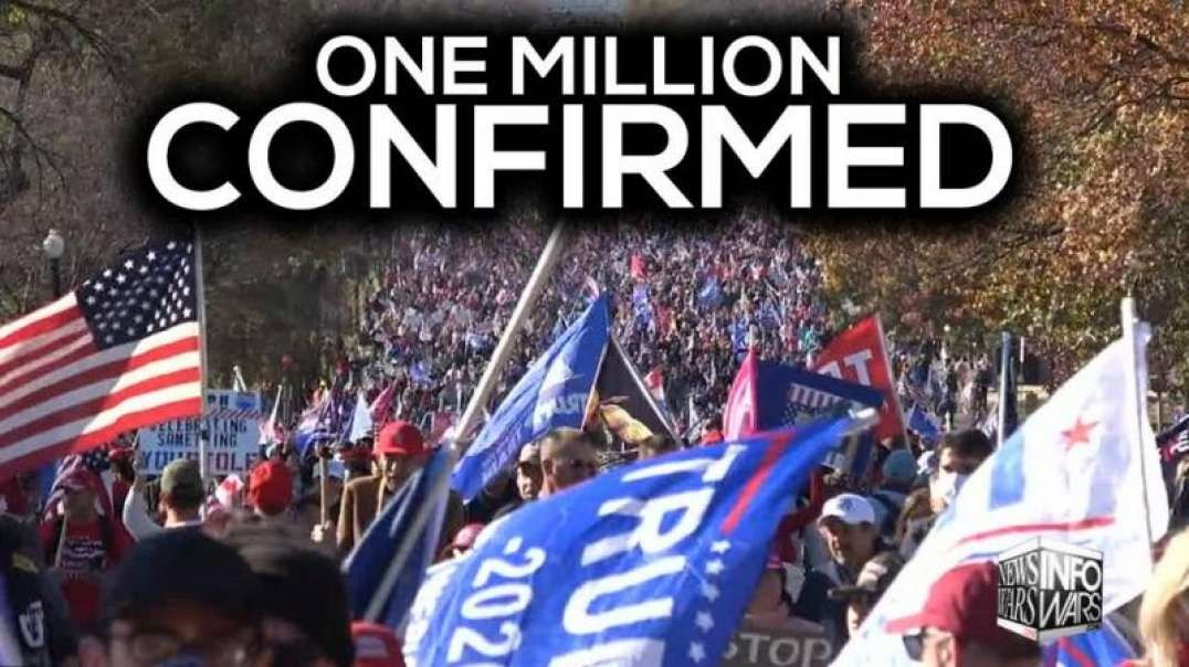Police Confirm One Million Attended Trump March