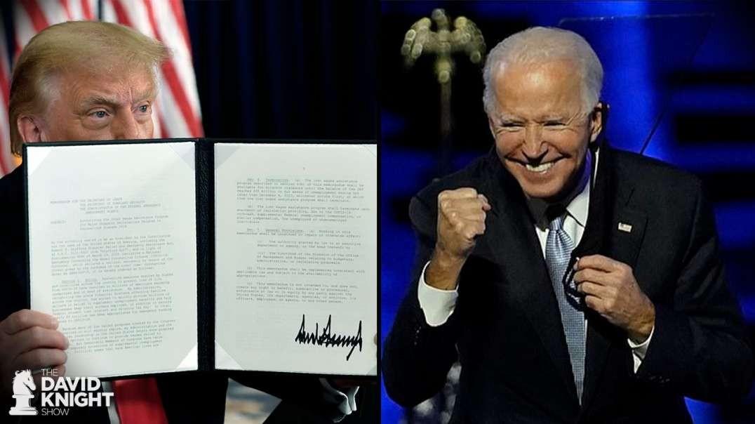"Biden Talks ""Flurry of Executive Orders"""