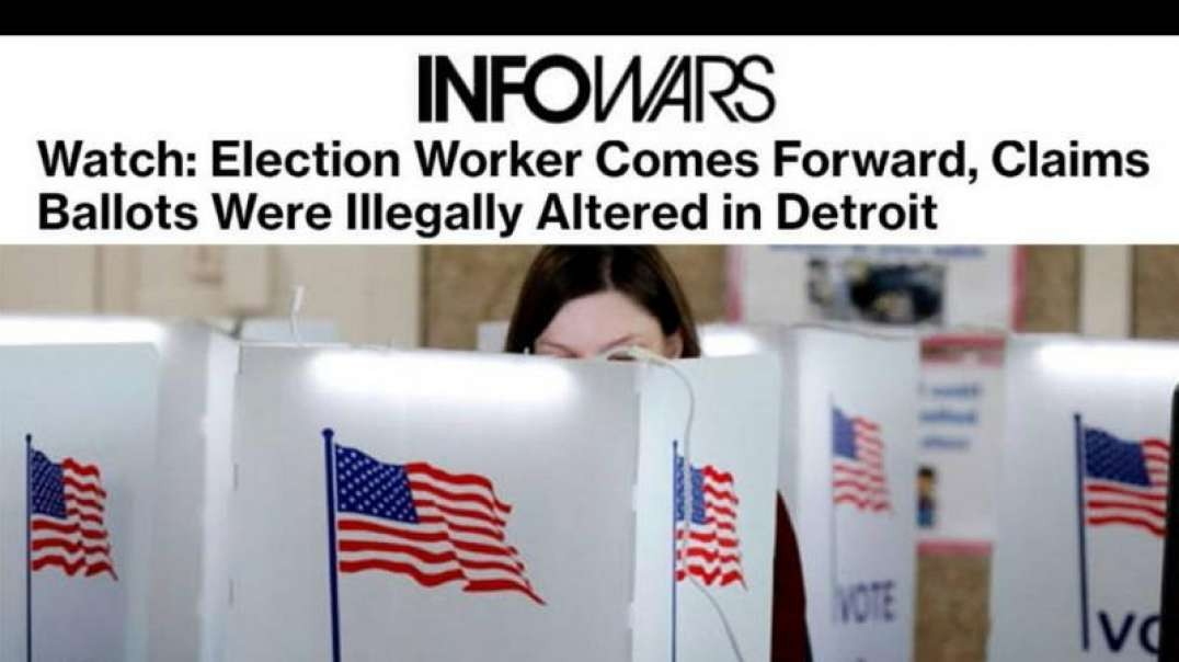 Dominion Voting Software Whistleblower Exposes Voter Fraud
