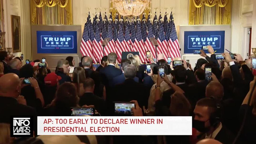 Trump Claims Victory in 2020 Election: Says Dems Are Trying To Steal It