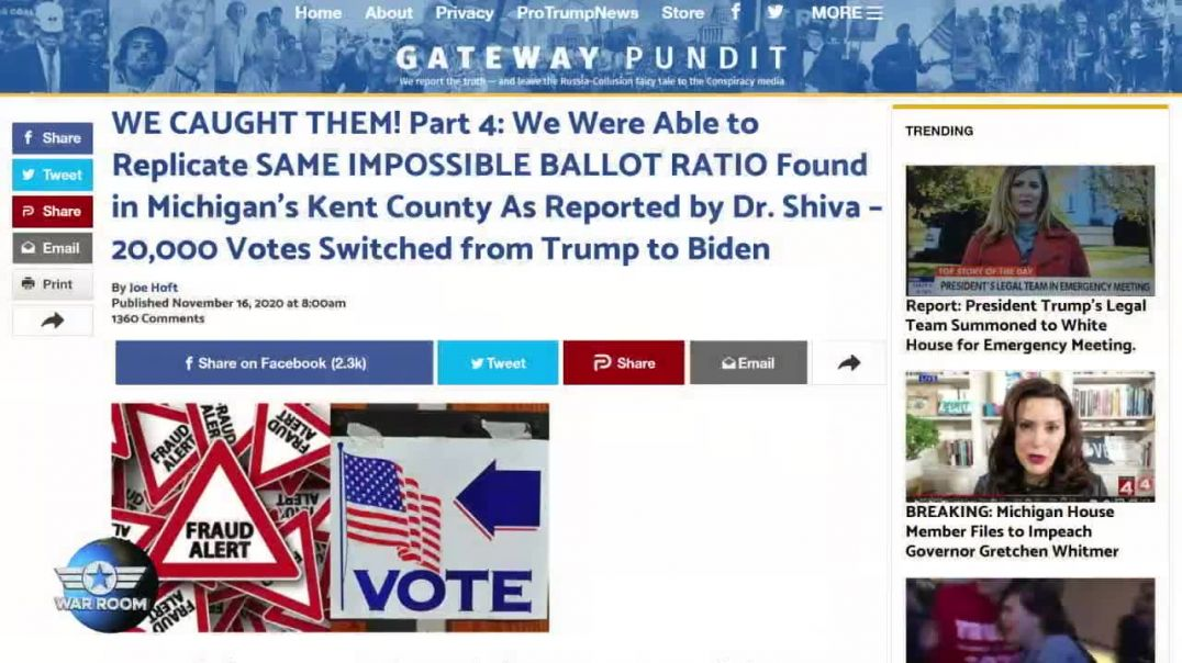 Democrats Programmed Voting Machines To Make Sure Biden Won Despite Actual Results