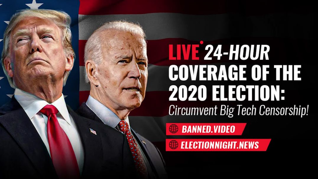 MEDIA COUP! BIDEN SET TO DECLARE FALSE VICTORY!