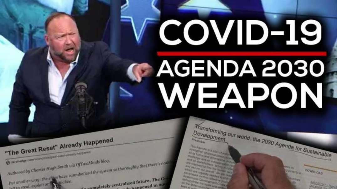 Horrifying: COVID-19 is Agenda 2030 Depopulation Weapon, World Leaders Admit