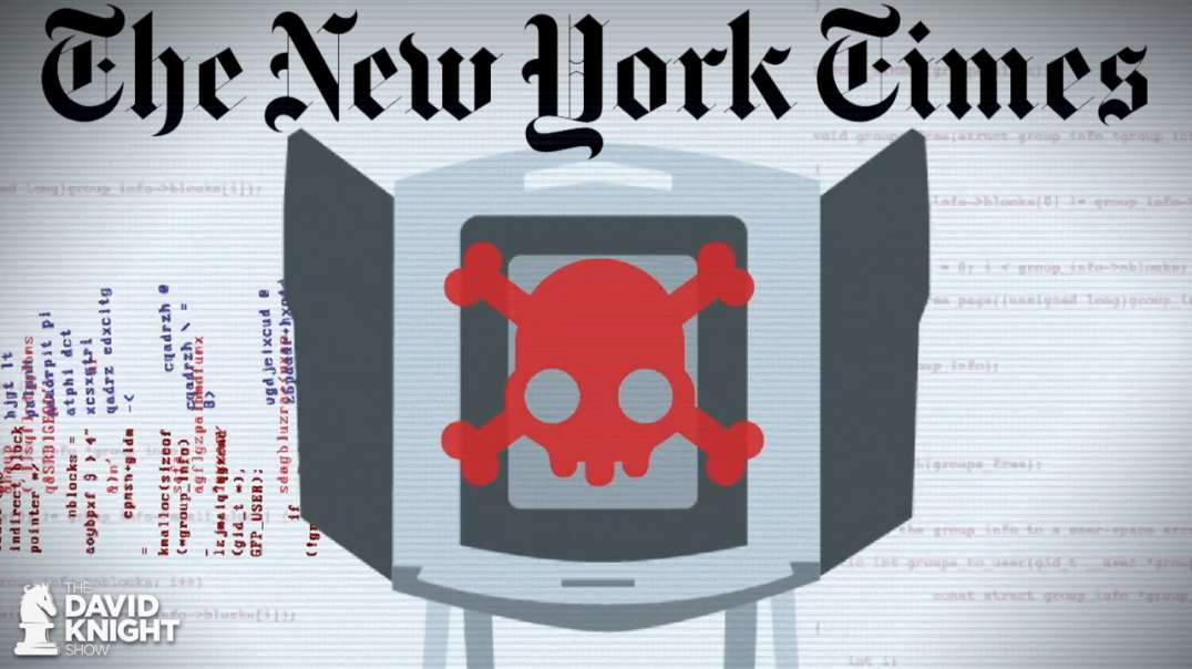 NYT Told Truth About Electronic Voting Fraud to Push RussiaGate, But They're Silent Now
