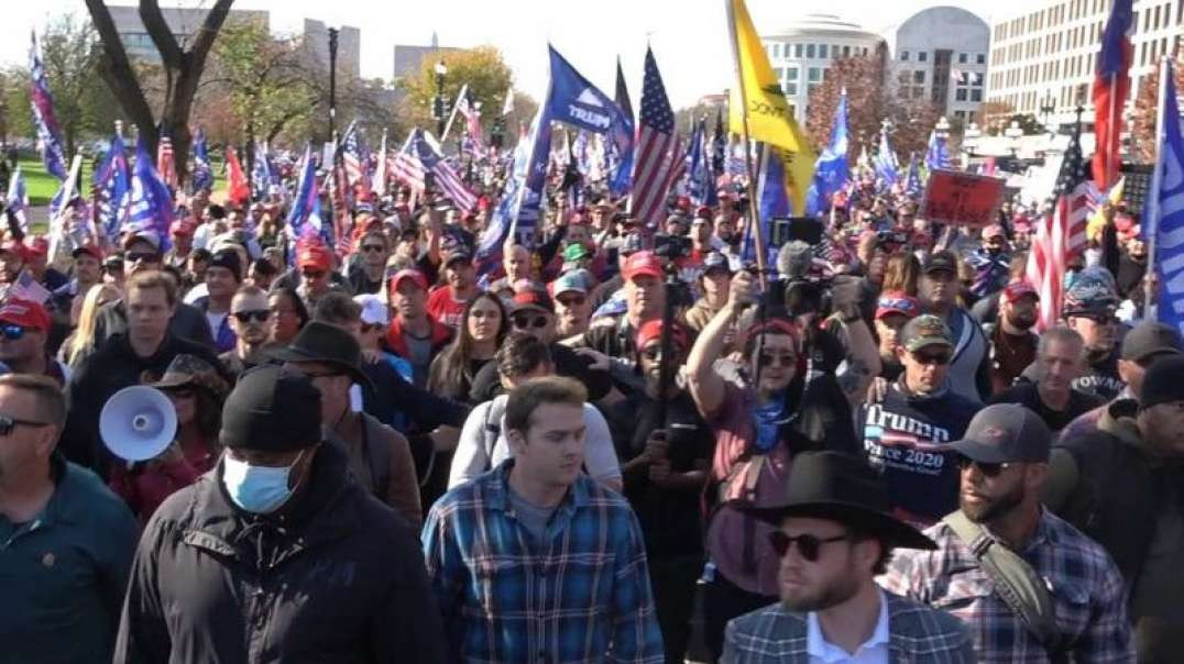 Must See Video! DC Police Estimate TRUMP March Topped 1 Million