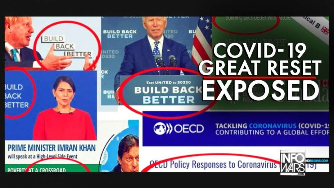 Cover Blown: Mainstream Media Hosts Report on Covid-19 Great Reset Takeover