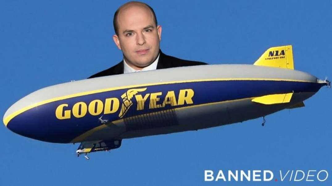 VIDEO: Brian Stelter Surveils Alex Jones From CNN Blimp
